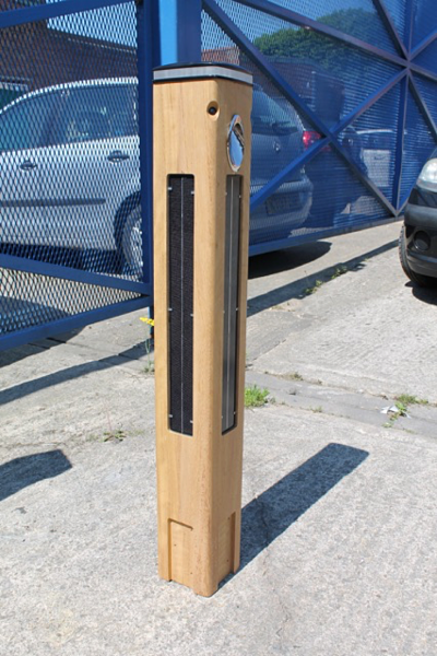 The Smartscape timber bollard